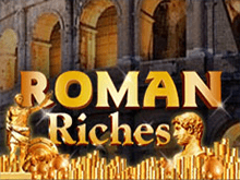 Играть на деньги в казино Вулкан в автомат Roman Riches