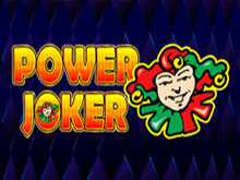 Power Joker – играть на сайте Вулкан на реальные деньги